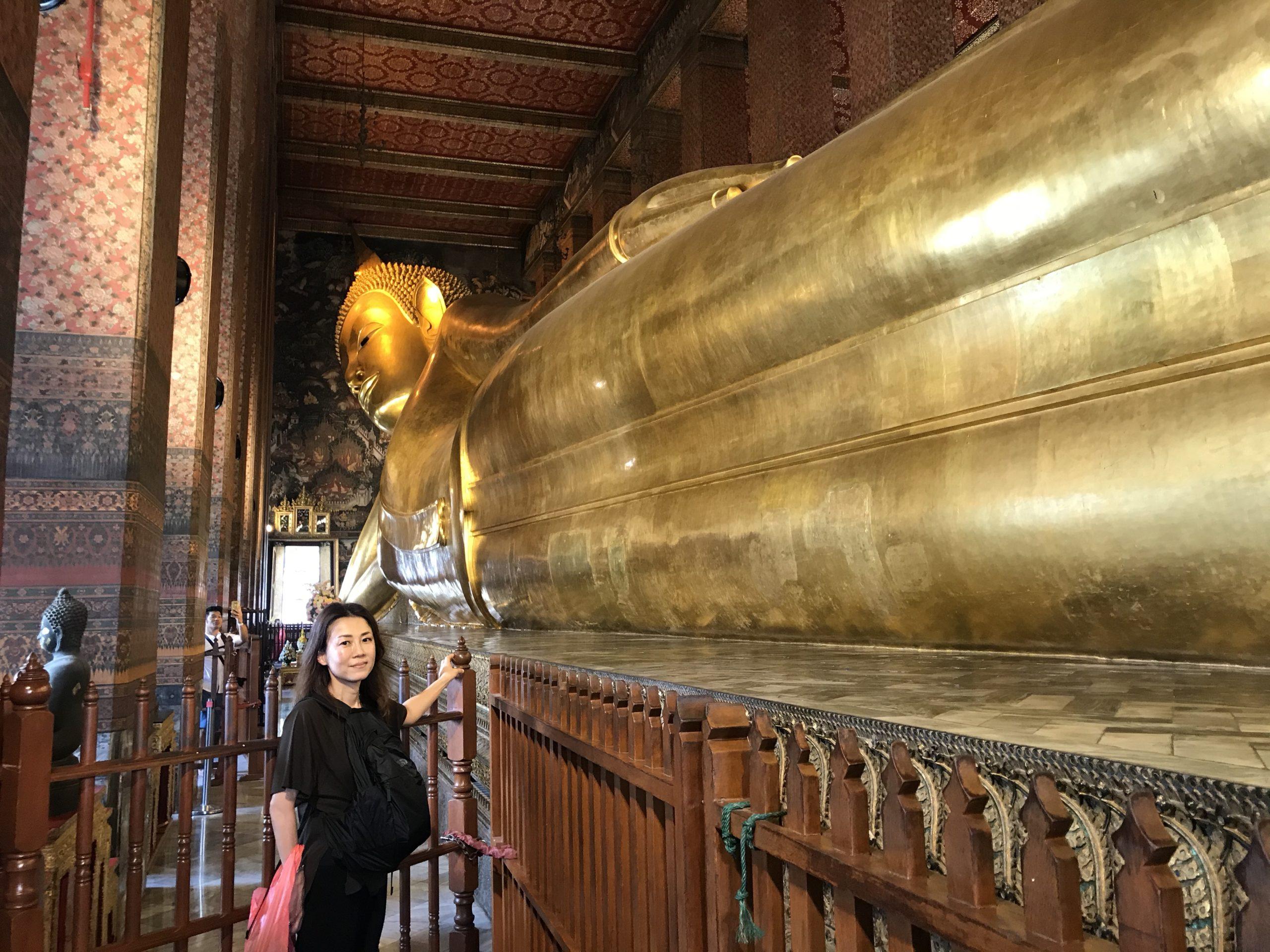 バンコク観光の様子を撮影した写真