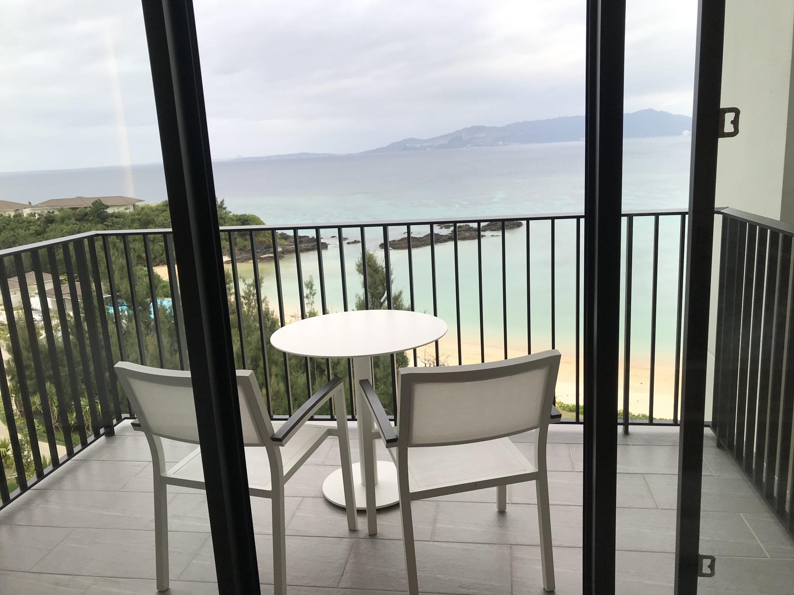 ハレクラニ沖縄の部屋からの眺めの写真