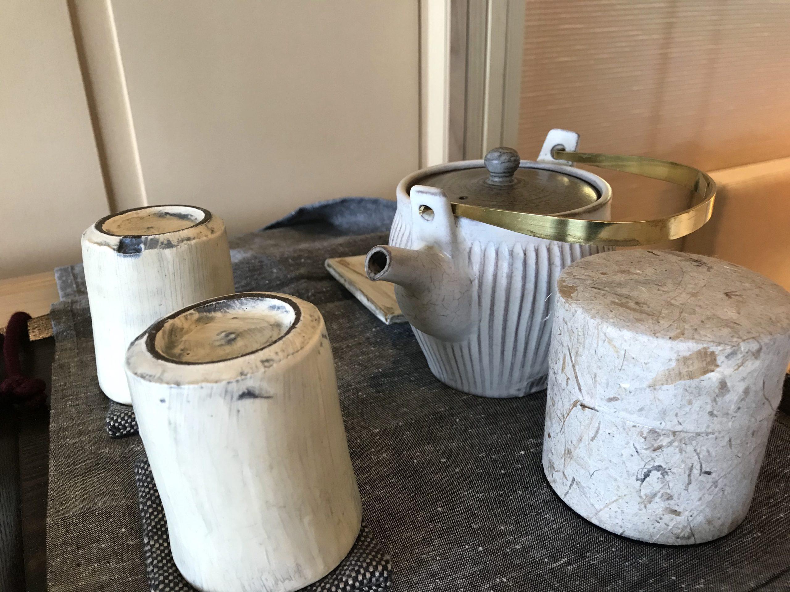 ザ・リッツ・カールトン日光お茶セットの写真