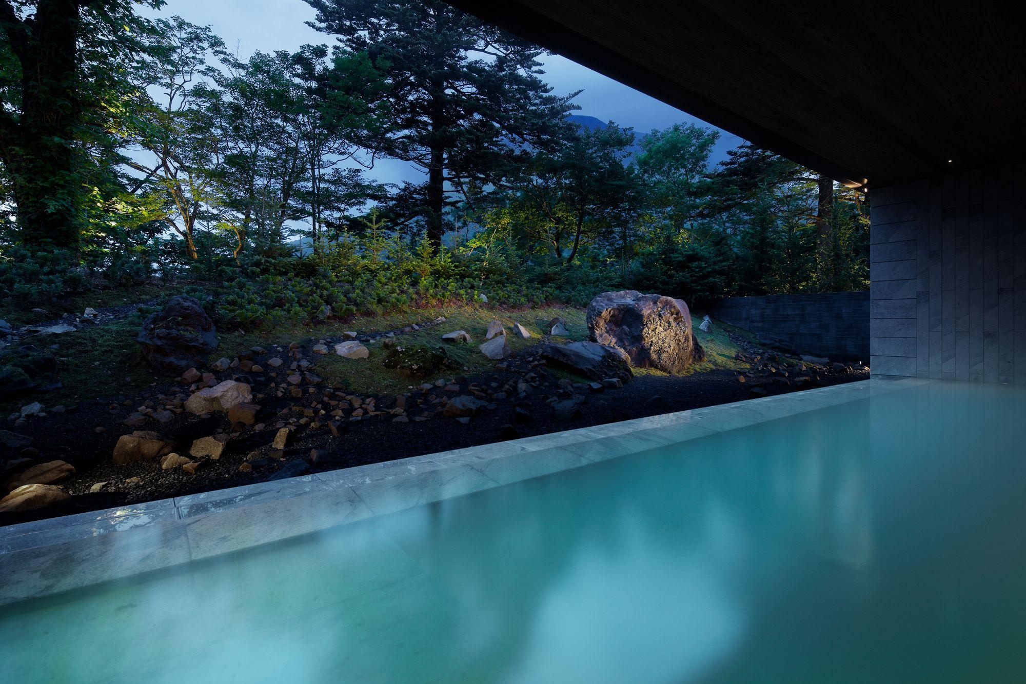 ザ・リッツ・カールトン日光の温泉施設の写真