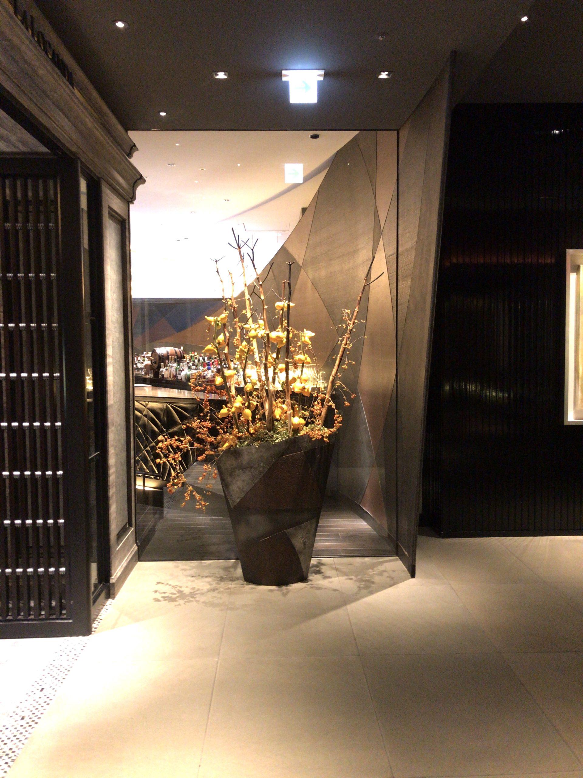 「ザリッツカールトン京都」家内の様子