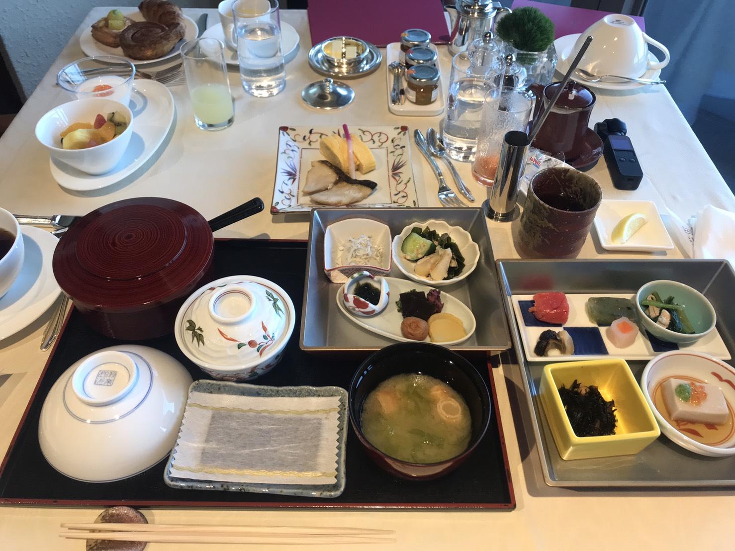 「志摩観光ホテル」和朝食の写真