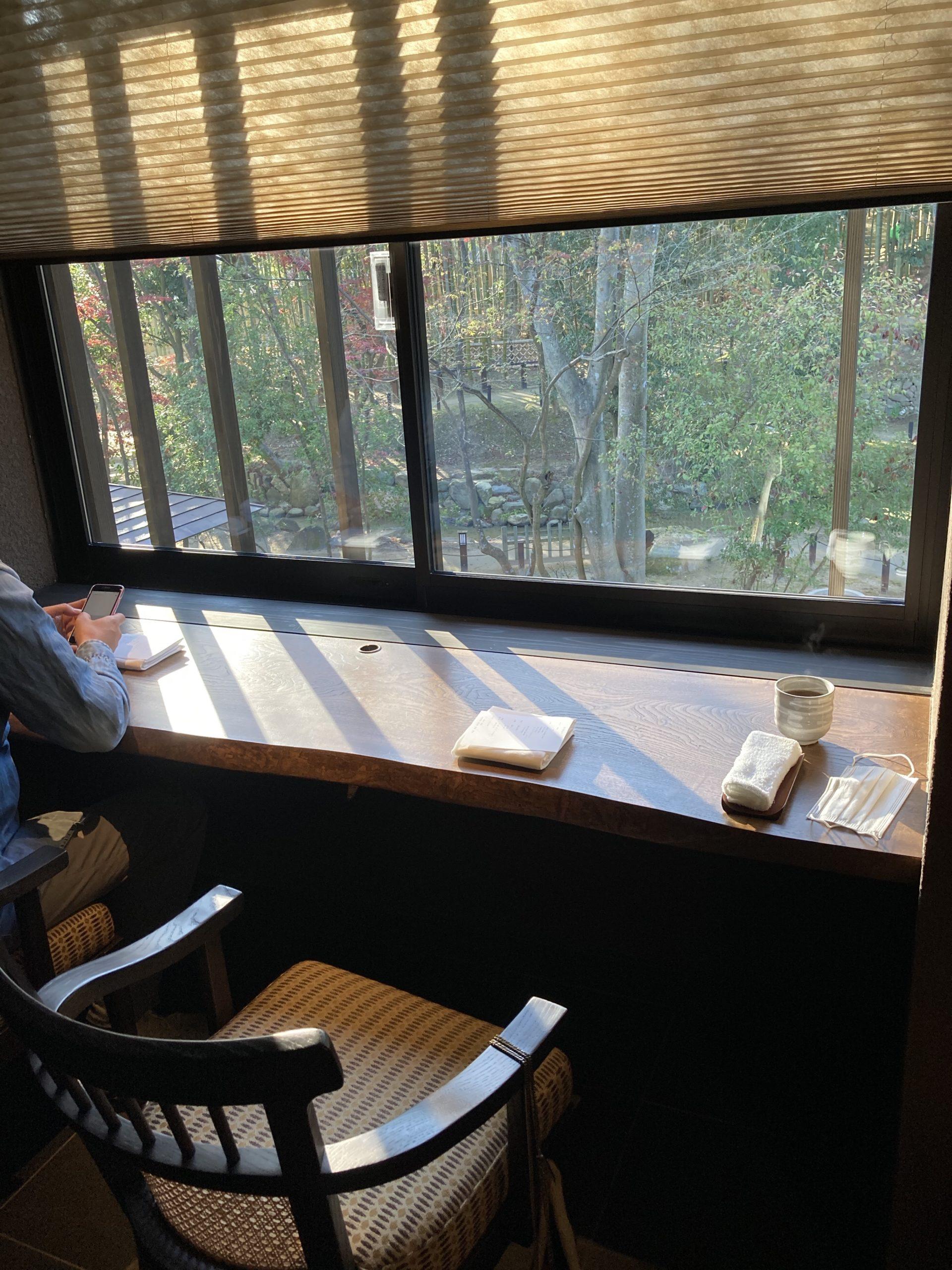 「ふふ奈良」ダイニング「滴翠」の写真