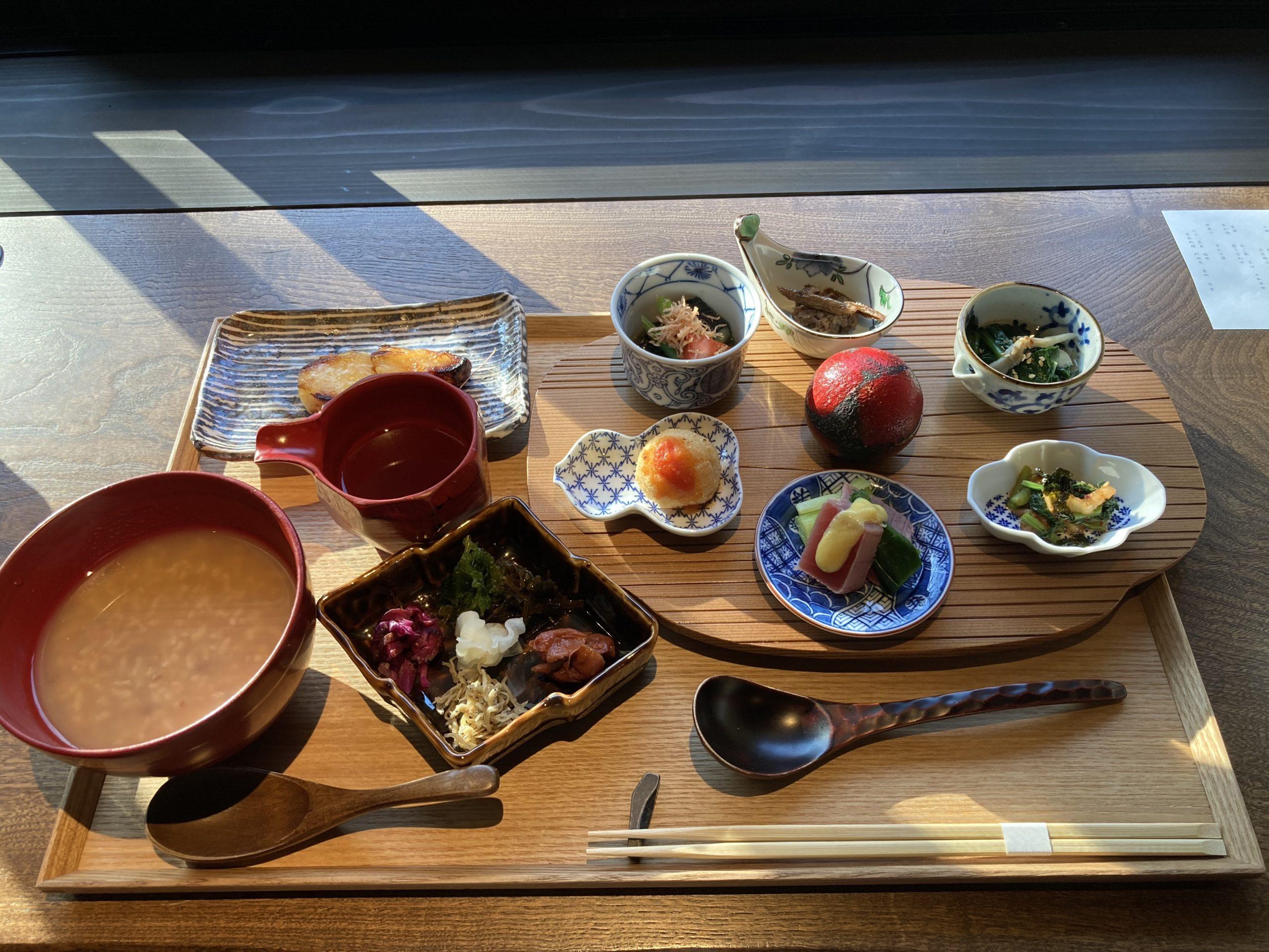 「ふふ奈良」朝食の写真