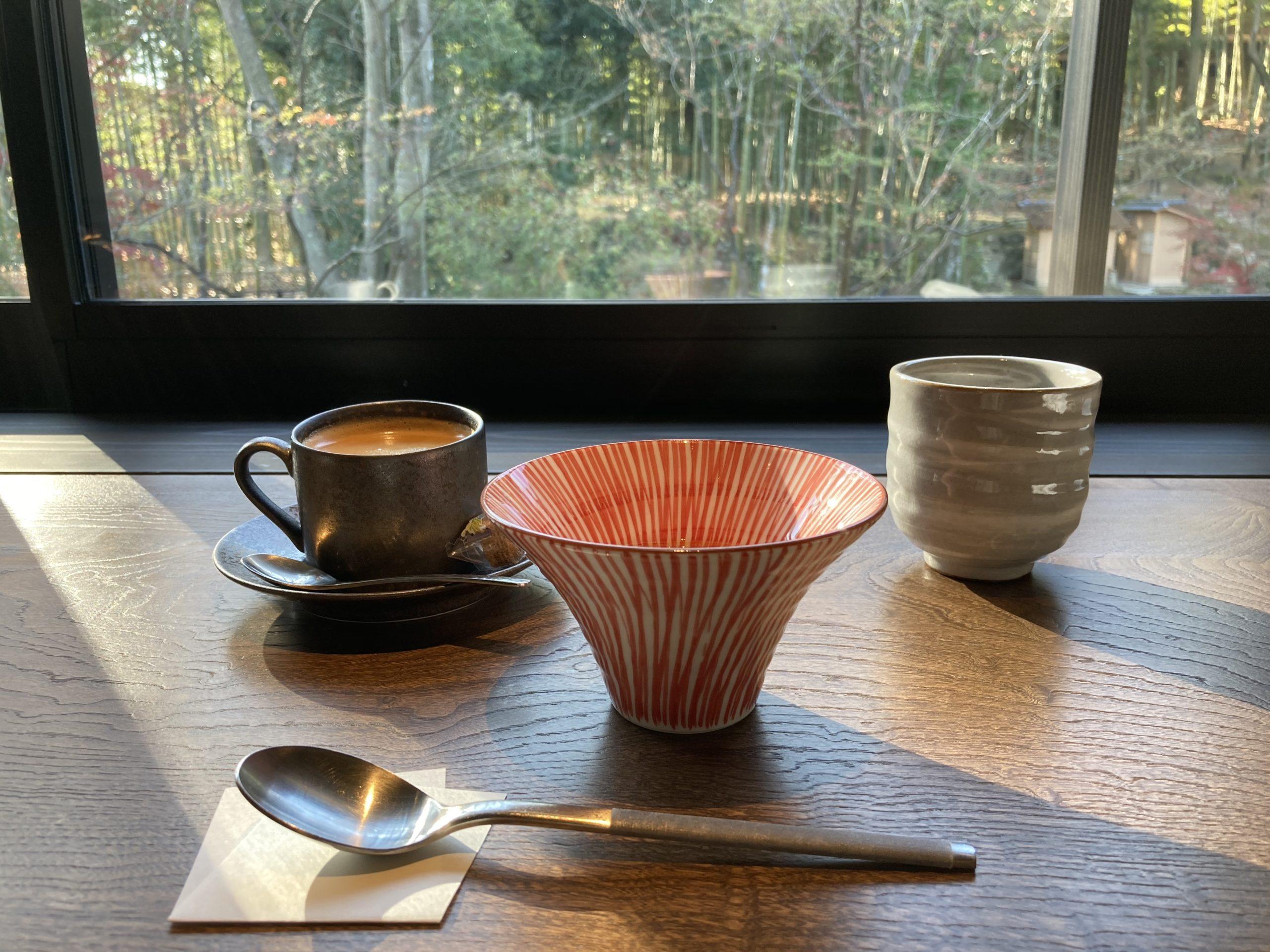 「ふふ奈良」朝食の様子
