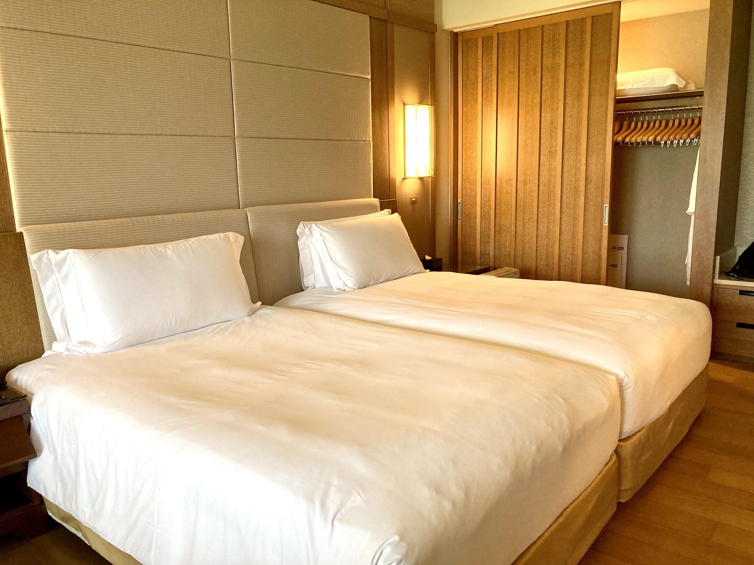 「ザリッツカールトン沖縄」ベッドルームの写真