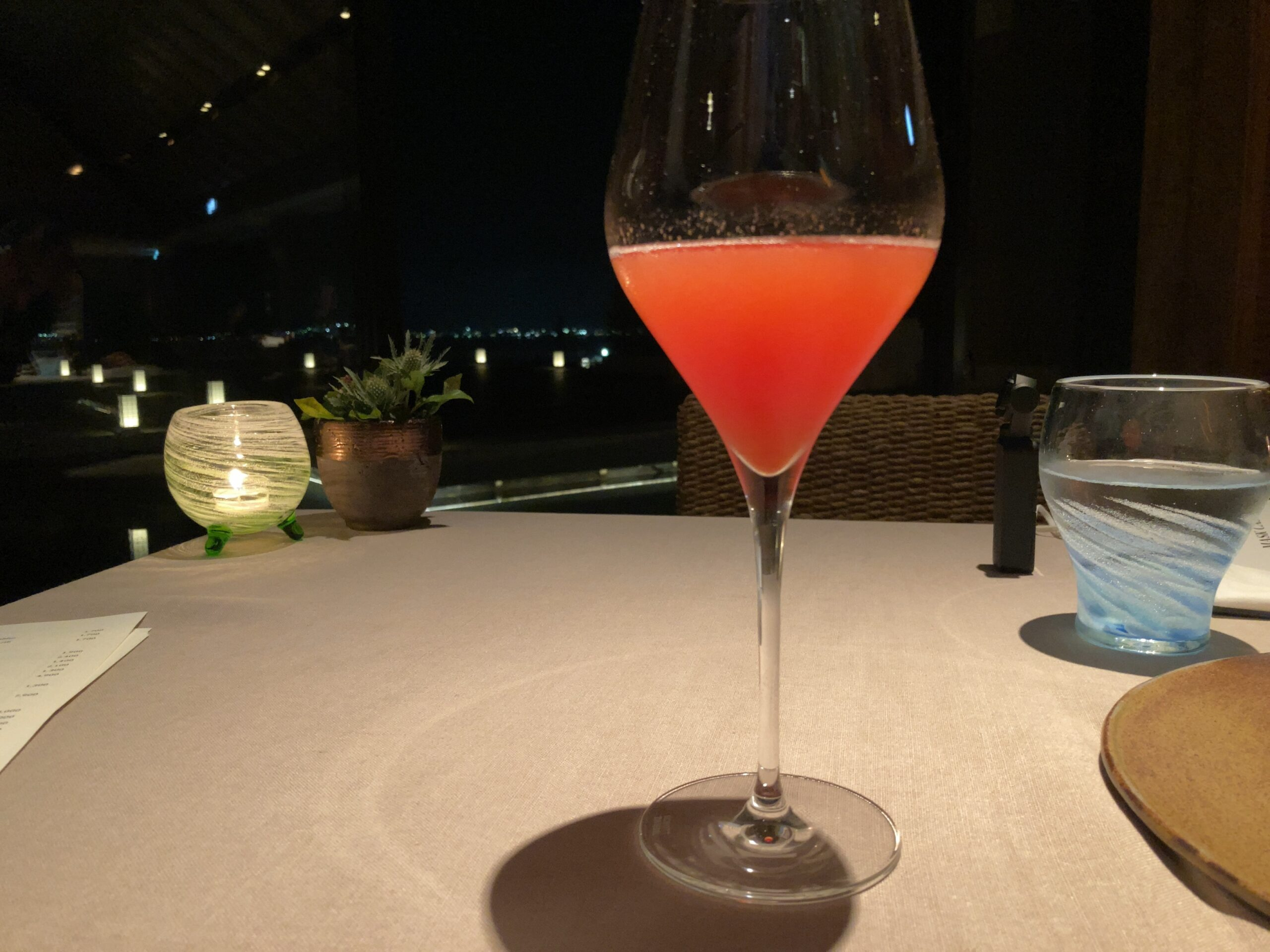 「ザリッツカールトン沖縄」「グスク」のカクテルの写真