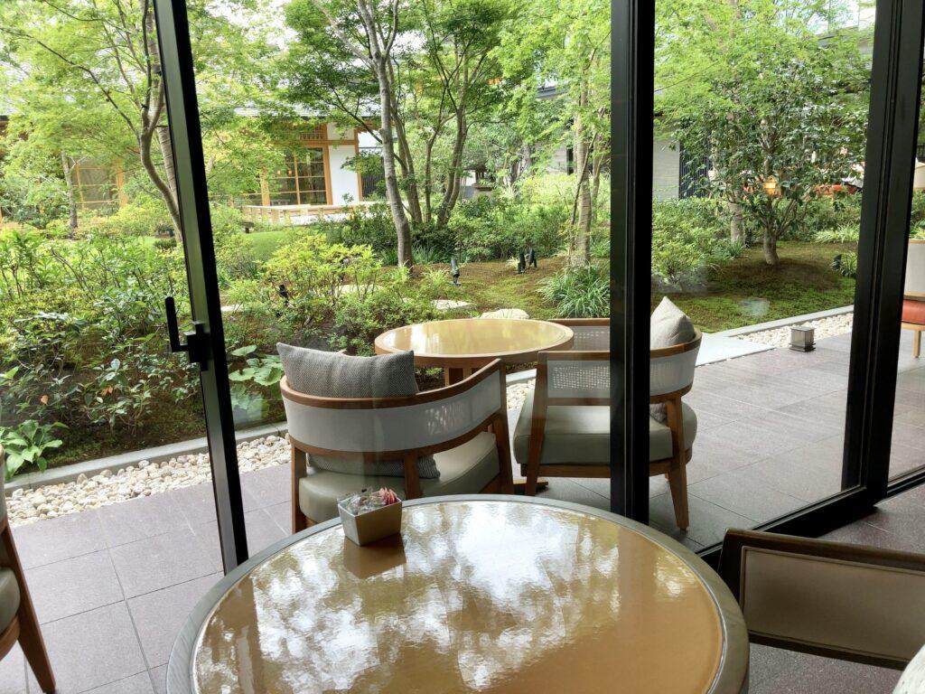 「ホテルザ ミツイキョウト」「FOLNI」窓から見える景色