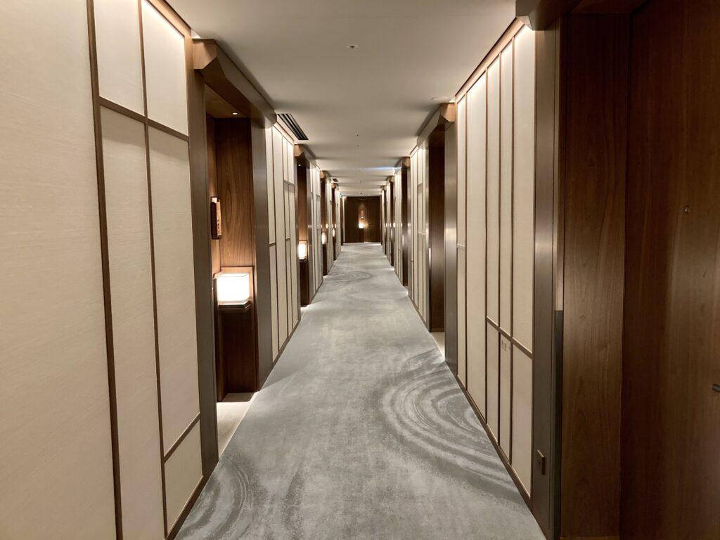 「ホテルザミツイキョウト」ホテル内の様子