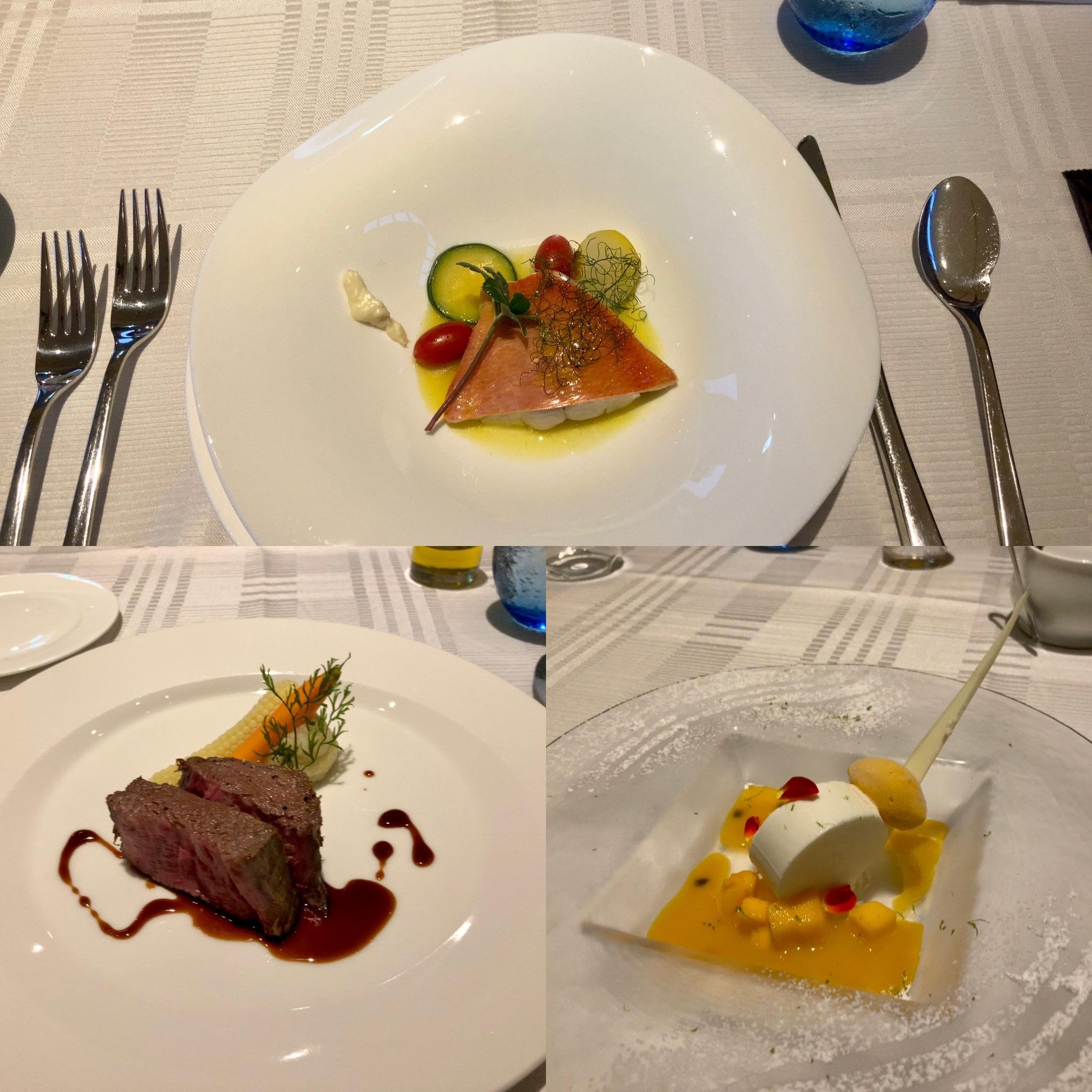 「伊豆ホテルリゾート&スパ」夕食の写真