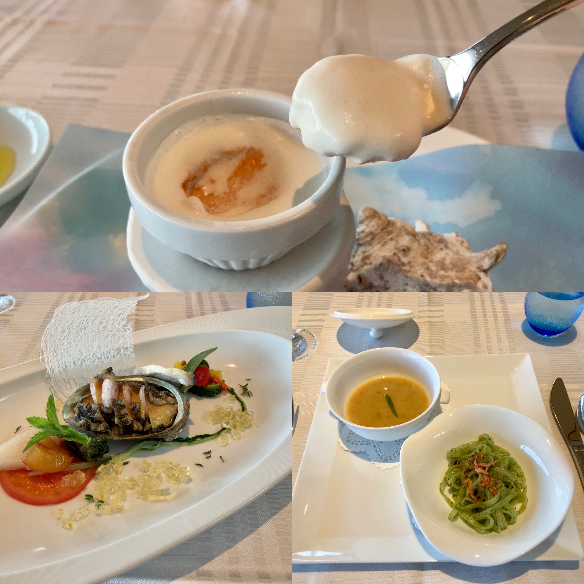 「伊豆リゾート&スパ」夕食の写真