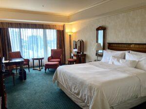 「ウェスティンホテル東京」デラックスルームの写真