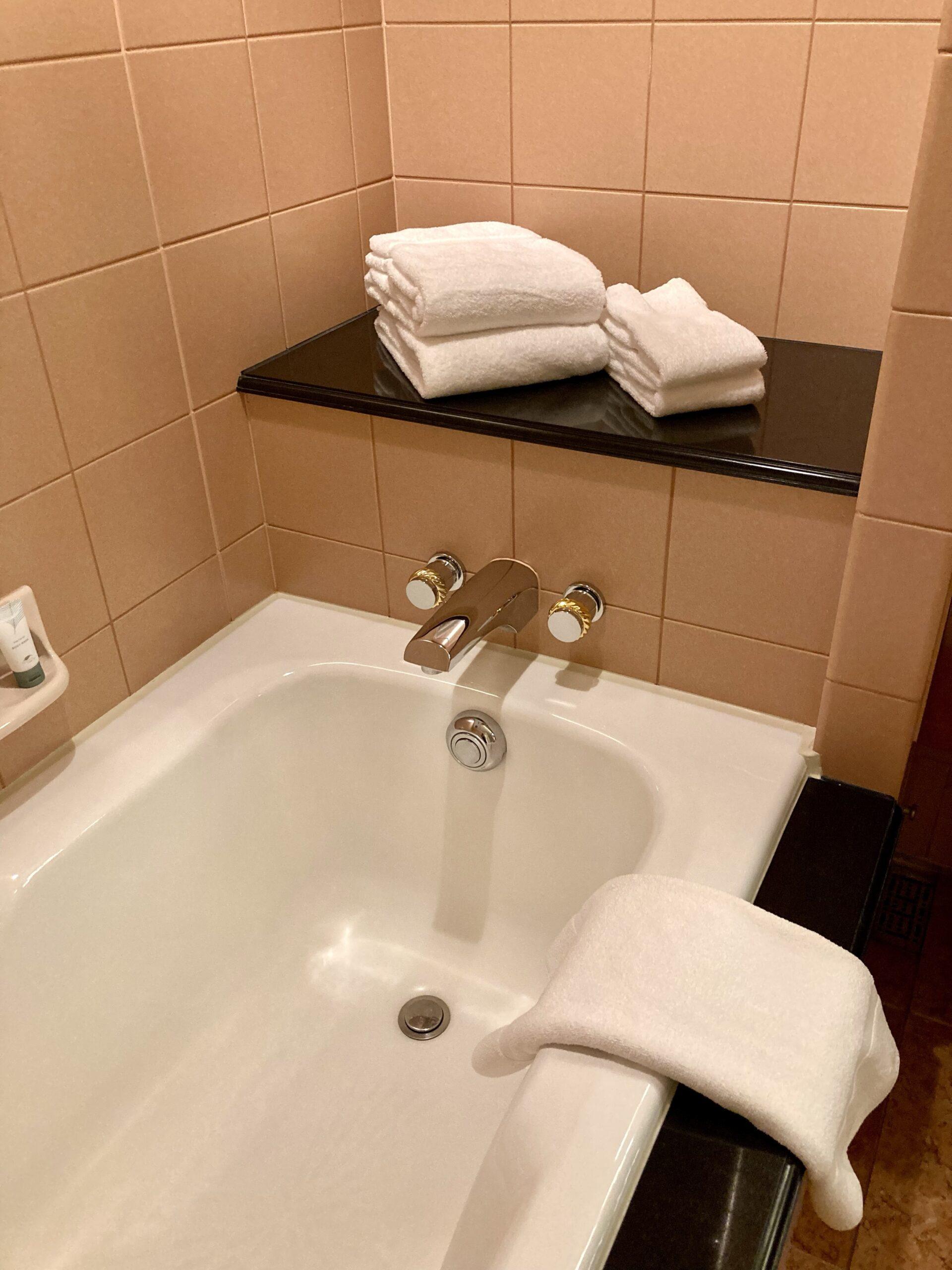 「ウェスティンホテル東京」バスルームの写真