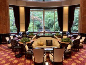 「ウェスティンホテル東京」ロビーラウンジの写真