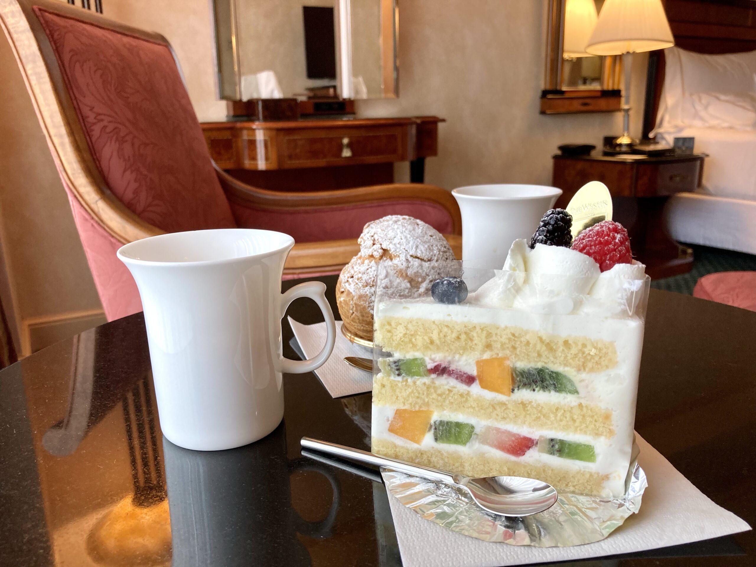 「ウェステイン東京」クラシックショートケーキの写真