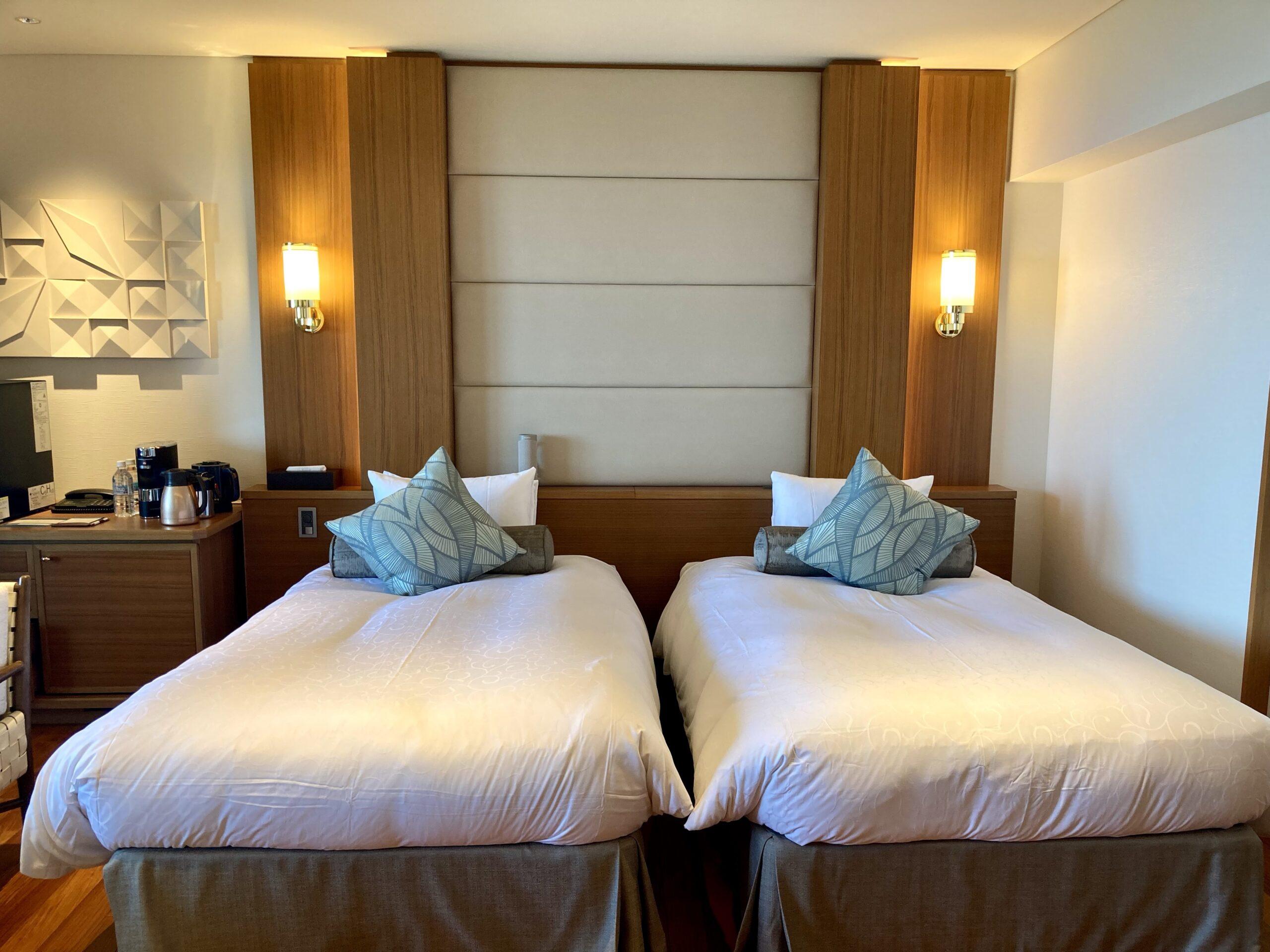 「伊豆ホテルリゾート&スパ」客室の様子