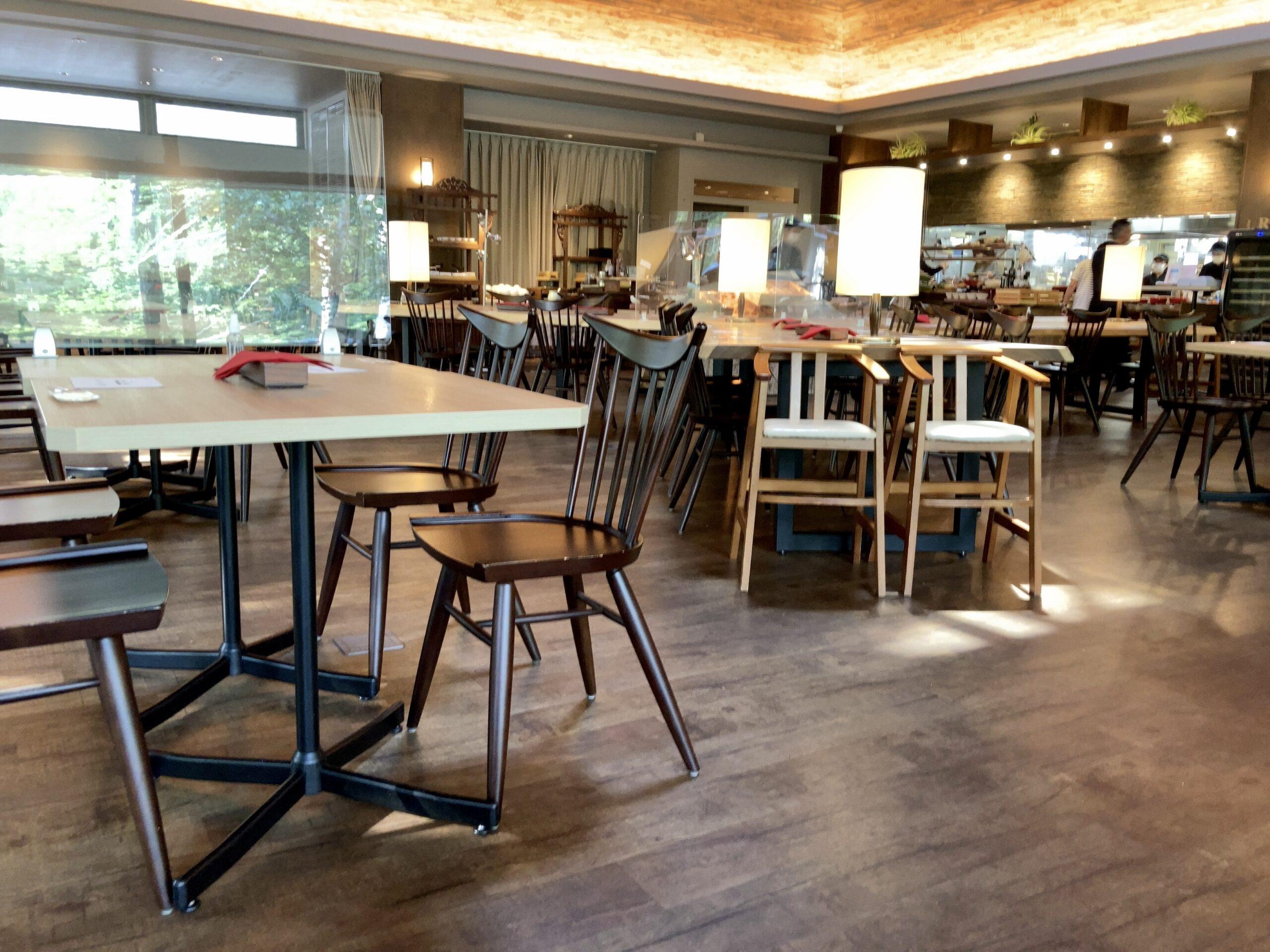 「コートヤードbyマリオット白馬」レストラン「LAVAROCK」の写真