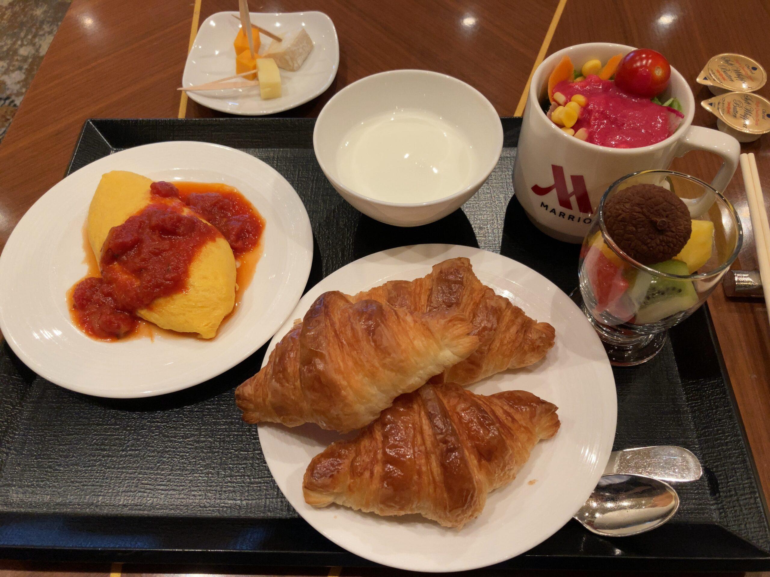 名古屋マリオットアソシア「パーゴラ」での朝食