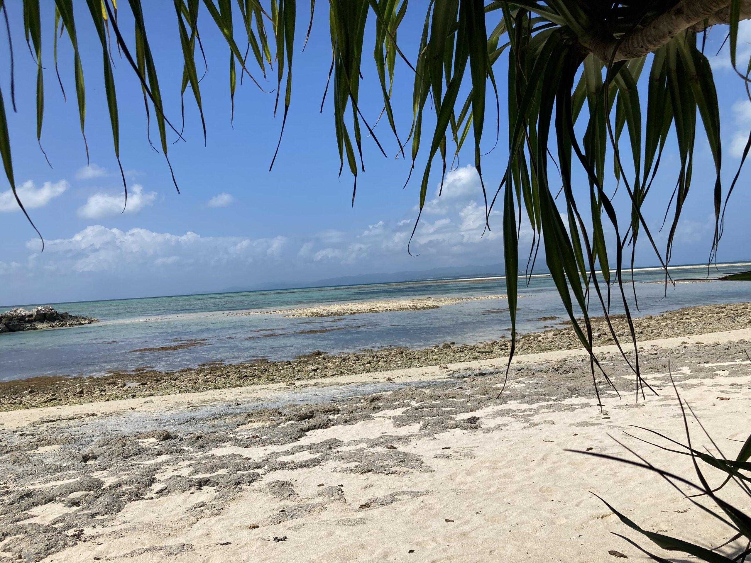 竹富町カイジ浜の写真
