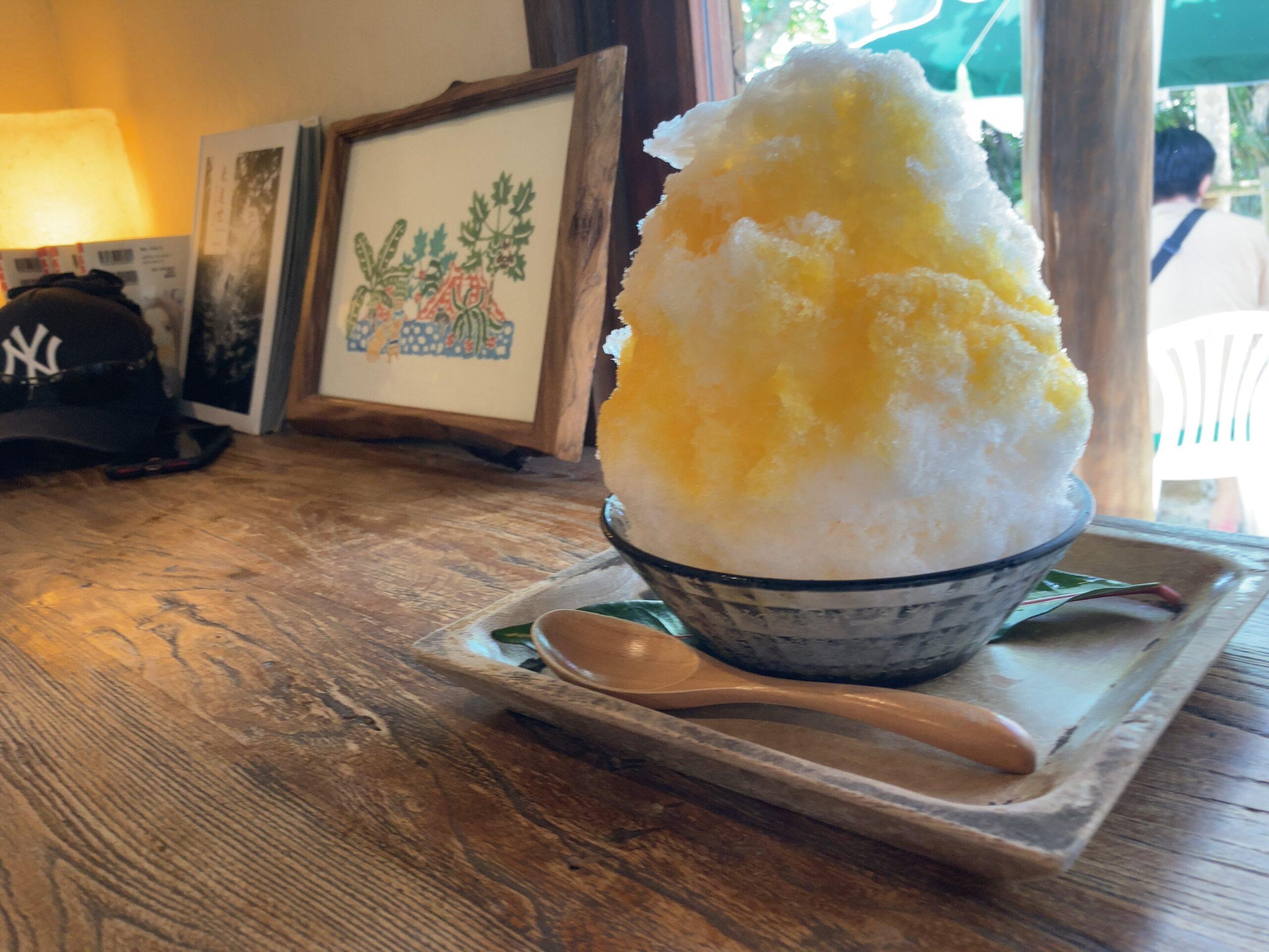 竹富島「願寿屋」でかき氷